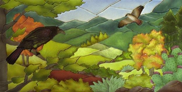 Landscape Tile Mural