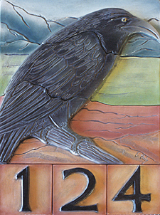 Raven address tile